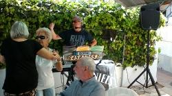 Maifeier nach Corona im Bräustüberl mit  Bernd